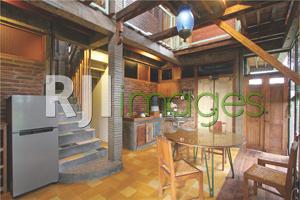 Fasilitas dapur & ruang makan Omah Mburi