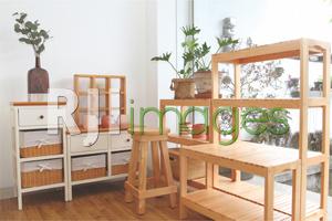 Furnitur bernuansa simpel mempercantik dekorasi ruang