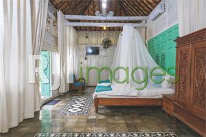 Interior bedroom rumah Limasan nan klasik