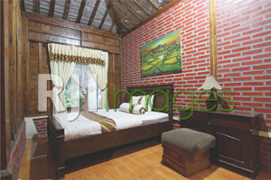 Kamar tidur dengan fasilitas single bed