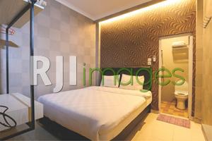 Kamar tidur tipe junior suite double room