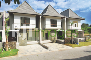 Kawasan hunian konsep tropis Hyarta Ecovillage