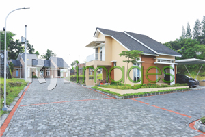 Kawasan rumah tipe 56-hook, area blok F,  Royal Sedayu Residence