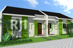 Perspektif rumah murah bersubsidi tipe 30, Cluster Triwidadi