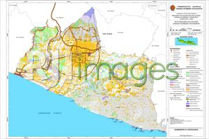 Peta Rencana Pola Ruang Daerah Istimewa Yogyakarta