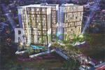 Perspektif night bird view, kawasan Patra Land Amarta Apartment