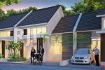Perspektif rumah tipe 50, Mukti Sendangtirto Residence